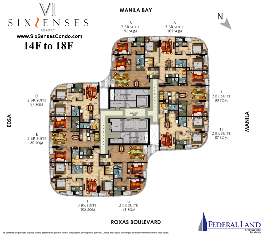 Floor Plan   SixSenses Resort