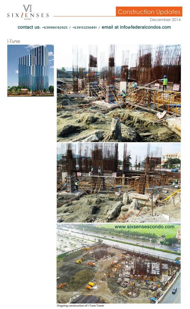 SSR construction update December 2014